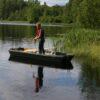 Intruder stående fiske